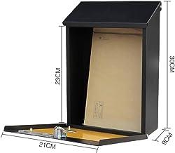 Mailbox Mail Muur Opknoping Muur Suggestie Box Tuin Creatieve Brievenbus Kleine Mail Box Brievenbus (Kleur: De Worm)