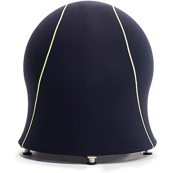 エクサボム バランスボールチェア EXABOMB EXA-BOMB(ネイビー) エクササイズチェア ストレッチチェア おうち時間 自宅でながらエクササイズ リモートワークにも使える