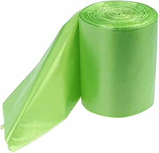 Kekow 1.2 Gallon Small Trash Bags, Green, 125 Counts