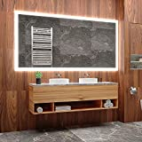 ARTTOR Espejo con Luz - Espejos De Baño - Decoracion Hogar - Espejos Decorativos - Muchos Tamaños - Pequeños y Grandes - Rectangulares y Cuadrados - M1ZP-50-70x100