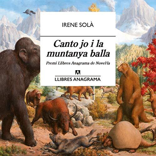 Diseño de la portada del título Canto jo i la muntanya balla