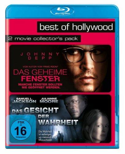 Das geheime Fenster/Das Gesicht der Wahrheit - Best of Hollywood/2 Movie Collector's Pack [Blu-ray]