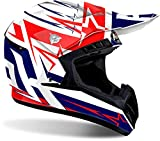 Airoh CASCO MOTO SWITCH STARTRUCK CROSS ENDURO (M, RED GLOSS)