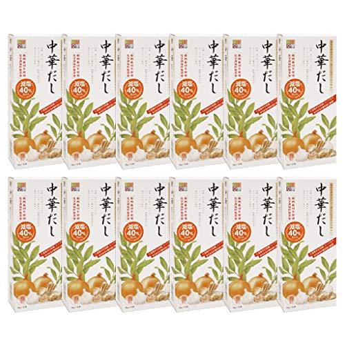 スカイフード 四季彩々中華だし 顆粒タイプ (6g×8袋入)×12個セット 畜肉素材不使用 化学調味料無添加