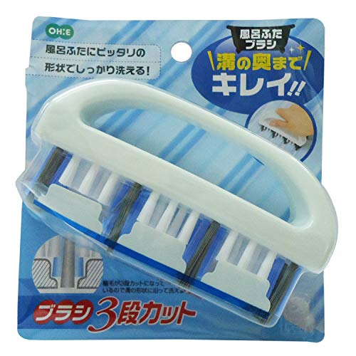 オーエ 風呂ふたブラシ ホワイト 7×12.8×3.7cm