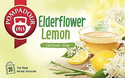 日本緑茶センター ポンパドール エルダーフラワー レモン 30g