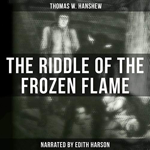 The Riddle of the Frozen Flame audiobook cover art