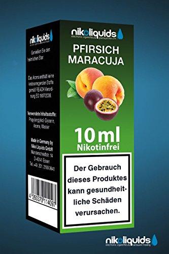 Nikoliquids Pfirsich-Maracuja 10ml 0mg