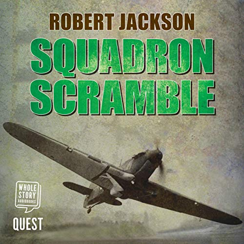 Squadron Scramble audiobook cover art