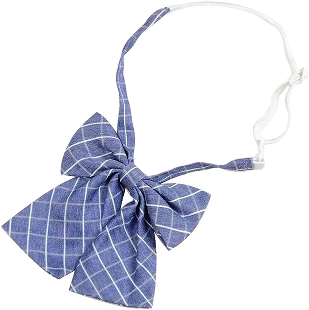 Women Girls Uniform Bow Ties School Uniform Bow Ties Bowties #02