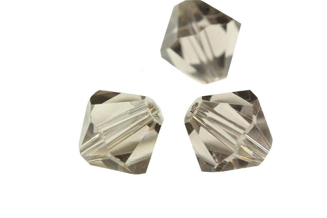 100pcs 5mm Adabele Austrian Bicone Crystal Beads Smoked Quartz Compatible with Swarovski Crystals Preciosa 5301/5328 SSB521