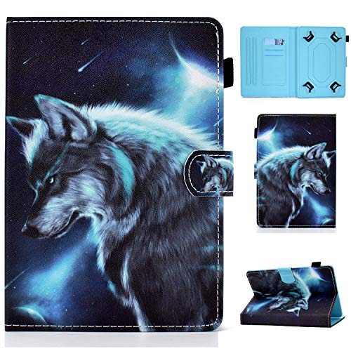 Universal 10' Tablet Funda, Funda universale per Tablet Samsung Galaxy, Apple iPad, Amazon Kindle, Google Nexus and More 9.5-10.5 Inch Tablet