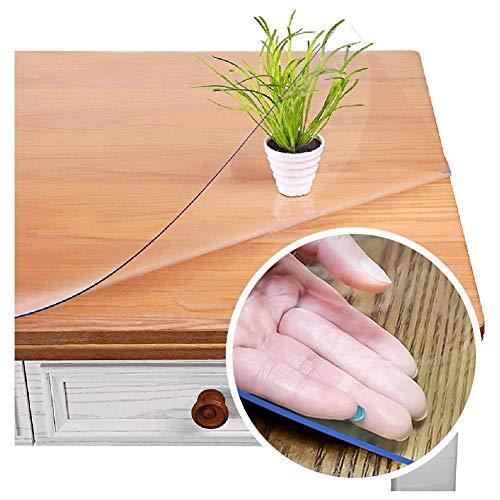 Claro El Plastico Protector de Mesa Limpiable Impermeable Personalizable Protector de Mesa para Comedor Mesa Escritorio ALGFree (Color : 3mm, Size : 1.2x1.2m)