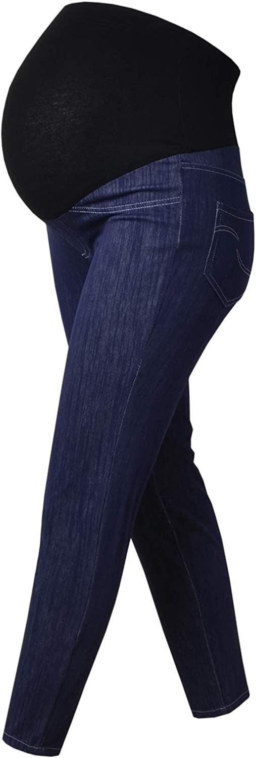 Bhome Women's NEW before selling ☆ High Waist Skinny Comfy Jean Jeans Maternity Ankle New products world's highest quality popular