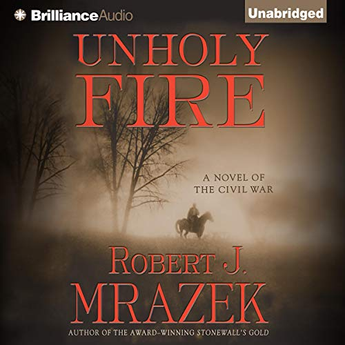 Unholy Fire audiobook cover art