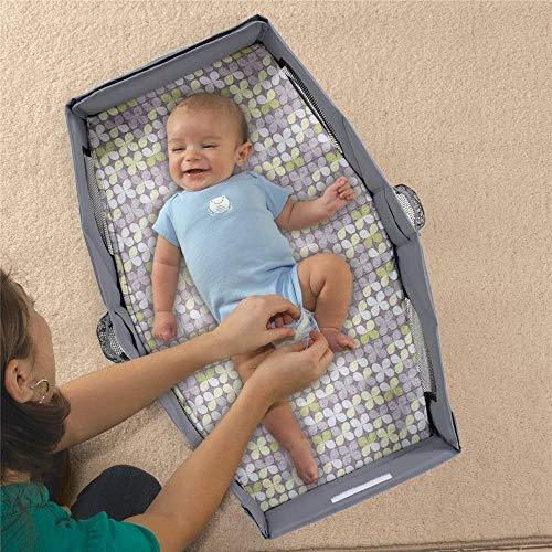 DEWELベビーベッド折り畳みベッドインベッド携帯型ベッド添い寝ベッド洗濯可出産祝い収納便利身長78CMまで対応(0~12ヶ月の赤ちゃんに対応)