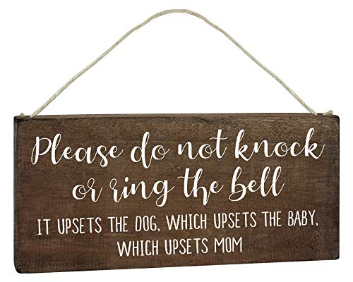 Product Image of the Baby Sleeping Door Sign