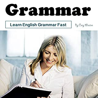 Grammar: Learn English Grammar Fast audiobook cover art