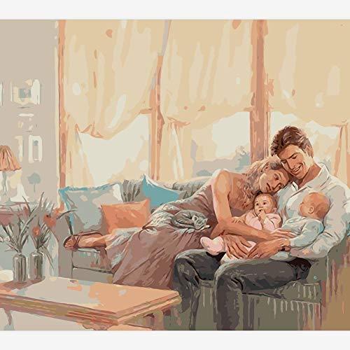 N / D Crystal Rhinestone BordadoPatrón Giratorio Kits de Pintura de Diamantes DIY 5D para Adultos decoración del hogar- Sin Marco 40 * 50 cm