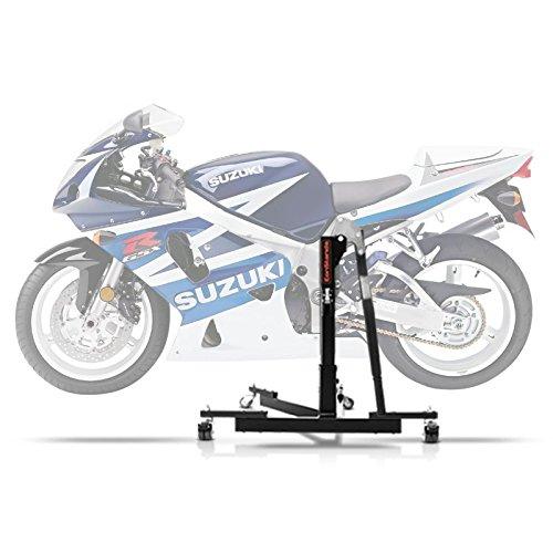ConStands Power Evo-Zentralständer Suzuki GSX-R 750 00-03 Schwarz Motorrad Aufbockständer Montageständer Heber