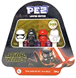 Pez Candy Star Wars The Rise of Skywalker Episode 9 Limited Edition Numbered Gift Tin – Includes 4 Dispensers, Candy Refills, and Tru Inertia Kazoo