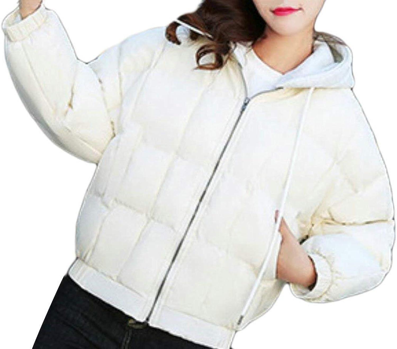 Alion Women' Winter Packable Hooded Lightweight Down Jackets Puffer Coats