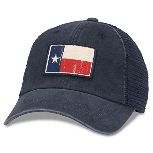 American Needle Texas Badger Soft Mesh Back Adjustable Hat (Navy/Navy)