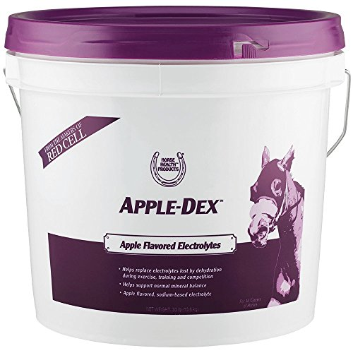 Horse Health Apple-Dex Apple-Flavored Electrolytes, 30-Pound