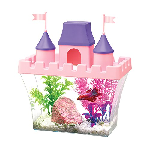 Aqueon Princess Castle Aquarium Kit, Half Gallon