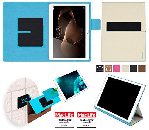 reboon Hülle für Huawei MediaPad M2 10.0 Tasche Cover Case Bumper | in Beige | Testsieger