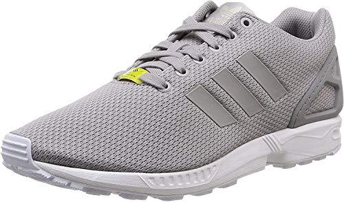 adidas Originals Unisex ZX Flux Turnschuh, Aluminum/Running White, 45 1/3 EU