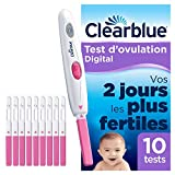 Test d'Ovulation Clearblue Digital Kit de 10 tests