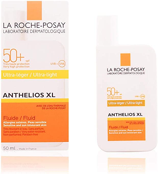 La Roche-Posay Anthelios XL Ultra-Light Fluid Facial Sunscreen SPF50+ 50ml