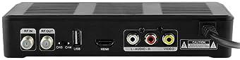 Mediasonic HOMEWORX HW180STB ATSC HDTV Digital Converter Box with Media Player and TV Tuner Function – Renewed