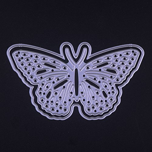 Dies Cut Cutting Die for Cards Making Butterfly Metal Embossing Stencils for DIY Craft Scrapbooking Photo Album Decorative Paper Gift Debossing Border (Dies 4 Butterfly)