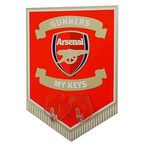 Club Licensed Arsenal Metal Key Hook One Size