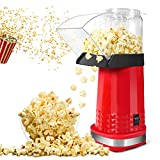 Popcorn Maker, Home Electric Air Popcorn Maker Machine With ETL Certified, BPA Free, No Oil, DIY Flavors,...