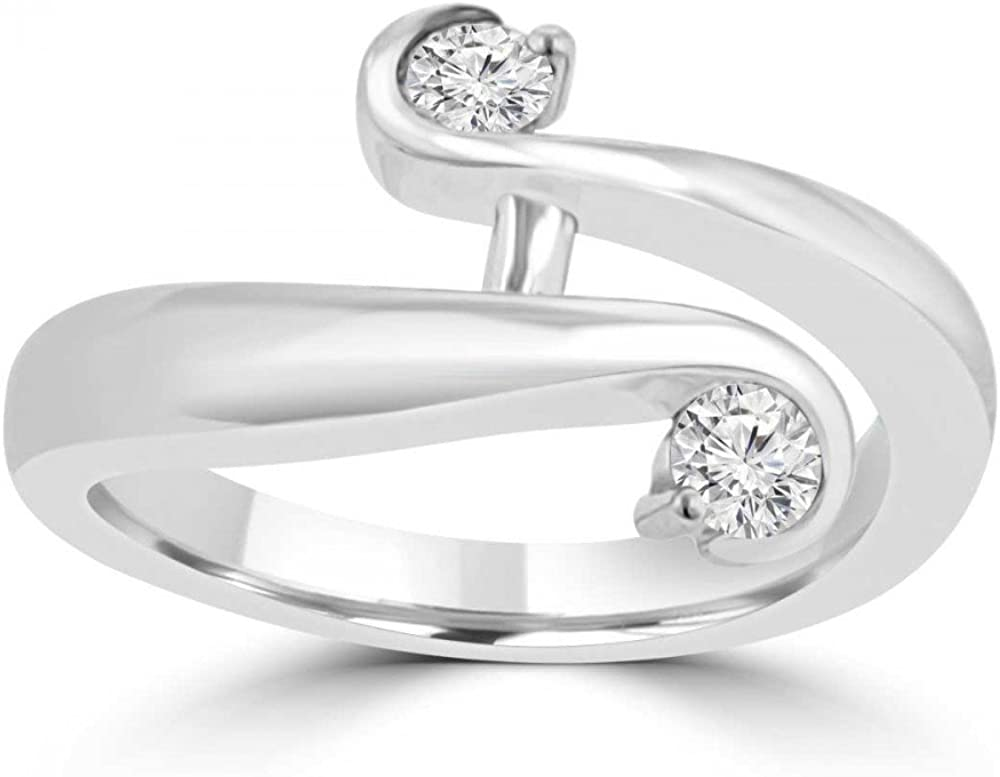 Madina Max 83% OFF Jewelry 0.26 Ct Round Anniversary Ban Wedding Cut Diamond Manufacturer direct delivery