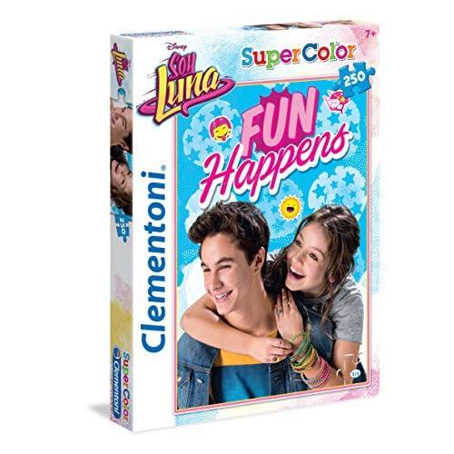 Clementoni Soy Luna Supercolor Puzzle, 250 Pezzi, 29736