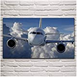 Posters Aviation Plane Passenger Aircraft Poster and Prints