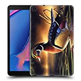 Official Chuck Black Backwoods Marsh Bird Art Hard Back Case Compatible for Galaxy Tab A 8.0 & S Pen 2019