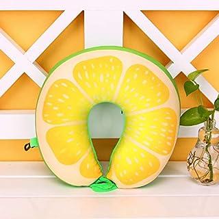 LITAVR 28 × 30 cm, Almohada de Espuma con Memoria U, Fruta Plana,