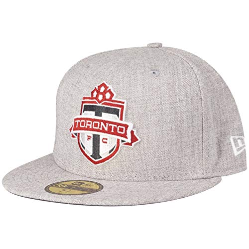 New Era 59Fifty Fitted Cap - MLS Toronto FC grau - 7 1/2