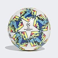 adidas Finale 19 CPT Balón de Fútbol, Hombres, Multicolor (White/Bright Cyan/Solar Yellow/Shock Pink/Collegiate Royal/Black/Solar Orange), 5