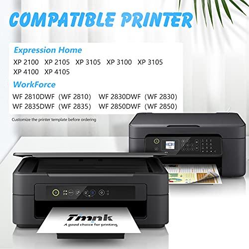 Timink 603 XL Cartuchos de Tinta Reemplazo de Epson 603XL Compatibles con Epson XP-2100 XP-2105 XP-3100 XP-3105 XP-4100 XP-4105 WF-2810 WF-2830 WF-2850 (5 Paquetes)