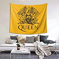 クイーン Queen (1) おしゃれ ファッション人気 多機能 毛布 軽量 ウォールアート インテリア 男女兼用 タペストリー ピクニックテーブルカバーとカーテン オールシーズンご利用いただけま