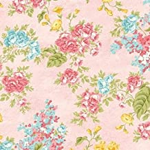 Clearance Sale~Forever Love~Flora Rose ~Cotton Fabric by Benartex