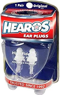 HEAROS High Fidelity Musician Ear Plugs Ultimate In Comfortable And Hearing Protection Professional Musicians Earplugs Noi...