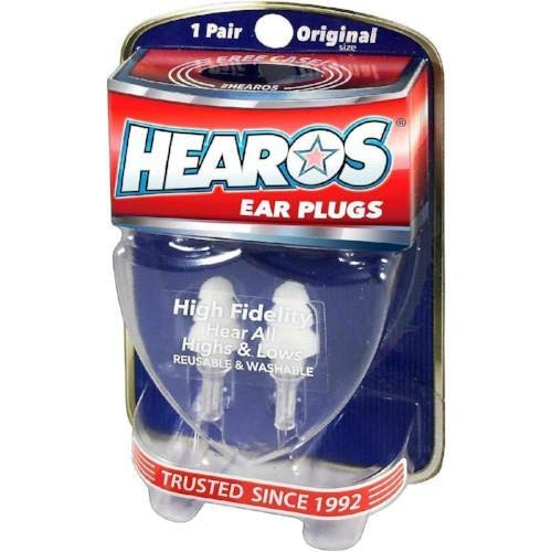 HEAROS High Fidelity Musician Ear Plugs Ultimate In Comfortable And