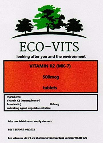 Vitamin K2 MK-7 (500mcg) 240 Tablets